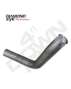 Diamond Eye Turbocharger Down Pipe, Fits 1999-Early 2003 Powerstroke 7.3L F250/F350 (All Cab And Bed Lengths)-Perfor