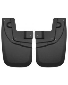 Husky Liners Front Mud Guards; 05-15 Tacoma, Pre Runner, 2015 Tacoma TRD Pro (56931)