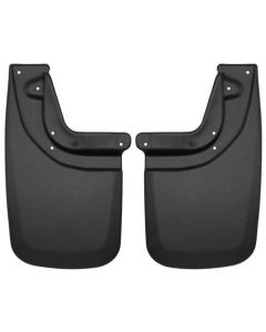 Husky Liners Rear Mud Guards; Fits 05-15 Tacoma, Pre Runner, 2015 Tacoma TRD (57931)