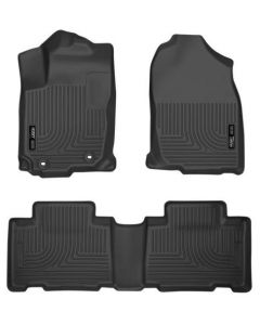 Husky Liners Front & 2nd Seat Floor Liners; Fits 13-18 Toyota (98971)