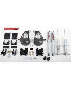 """McGaughys 3""""/5"""", 4""""/6"""", or 5""""/7"""" Lowering Kit (2wd); Fits 07-13 GM SUV 1500 (34070)"""