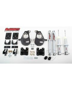 """McGaughys 3""""/5"""", 4""""/6"""", or 5""""/7"""" Lowering Kit (2wd); Fits 14-16 GM Truck 1500 (34170)"""